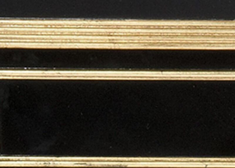 Piano with Gold accents (564) Finish Sample