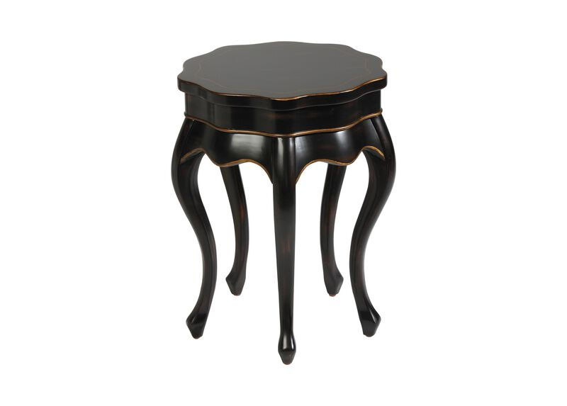 Black Five Leg Table