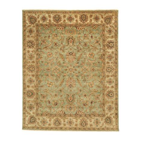 Sarouk Fereghan Rug, Green/Ivory Product Tile Image 041508