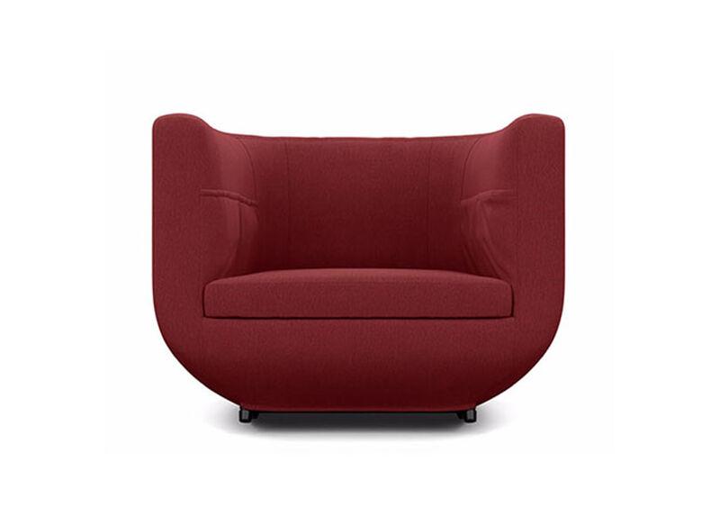 Having a Ball Chair , Lucky Denim Red (D1200) , large_gray