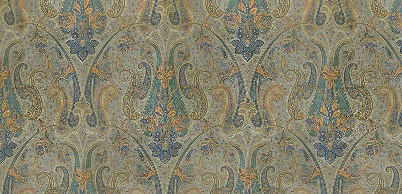 Rasone Blue Fabric By the Yard