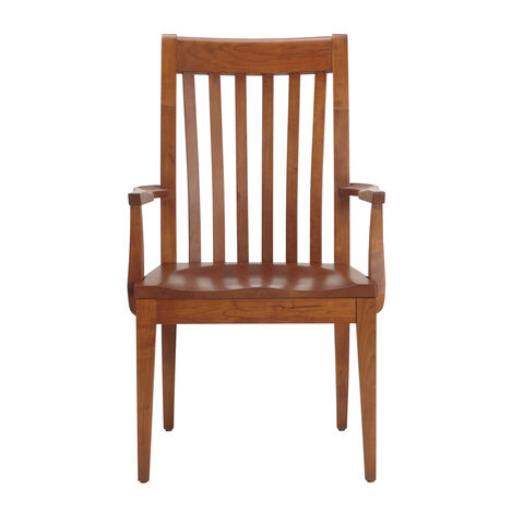 Teagan Wood-Seat Armchair ,  , large