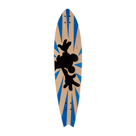 Mickey Mouse Longboard Wall Art III ,  , large