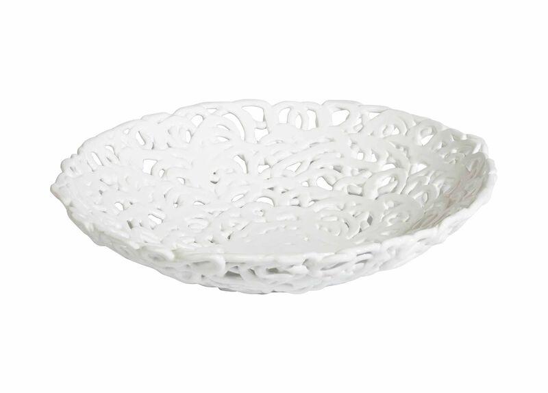 Braided White Centerpiece