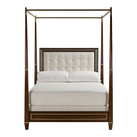 Andover Upholstered Poster Bed ,  , large