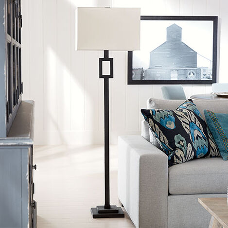 Modena Iron Floor Lamp Product Tile Hover Image 092102MST
