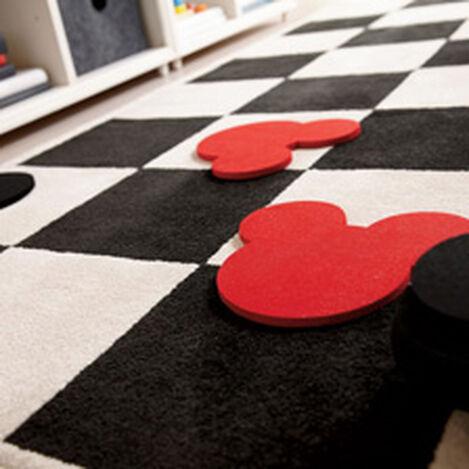 Checkboard Square Rug Set Product Tile Hover Image 041007SET