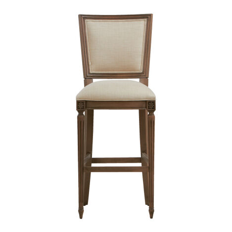 Marcella Square Back Barstool ,  , large
