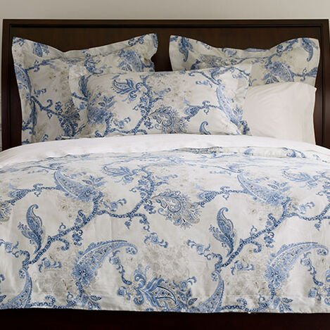 Delmore Paisley Duvet Cover and Shams ,  , large