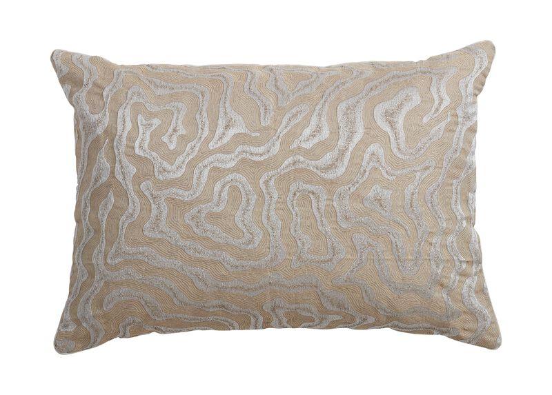 Woven Labyrinth Lumbar Pillow