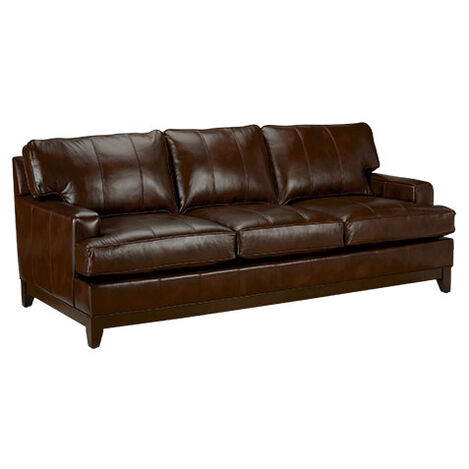 Arcata Leather Sofa, Quick Ship Product Tile Hover Image arcataQSlth