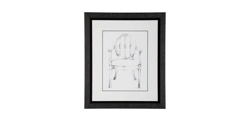 Historic Chair Sketch I