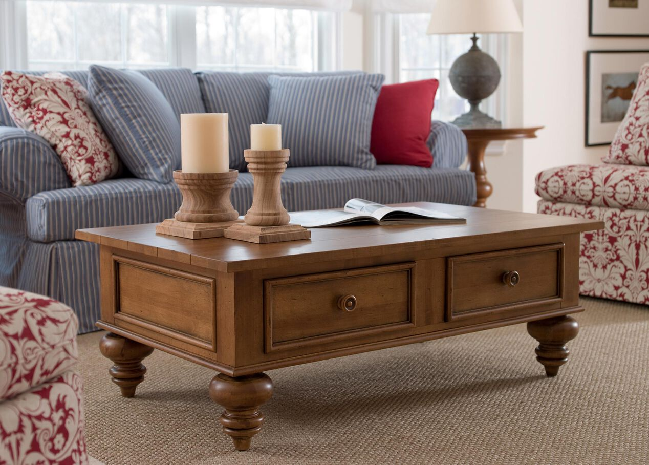 Henry Coffee Table Coffee Tables Ethan Allen