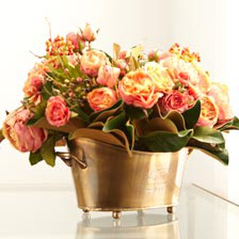 Mixed Rose Berry Centerpiece ,  , hover_image