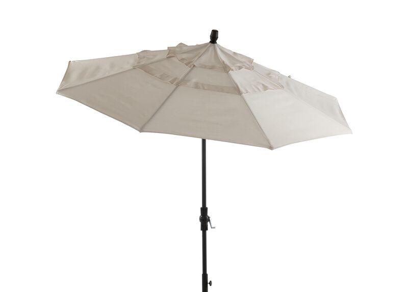 Ivory Round Market Umbrella