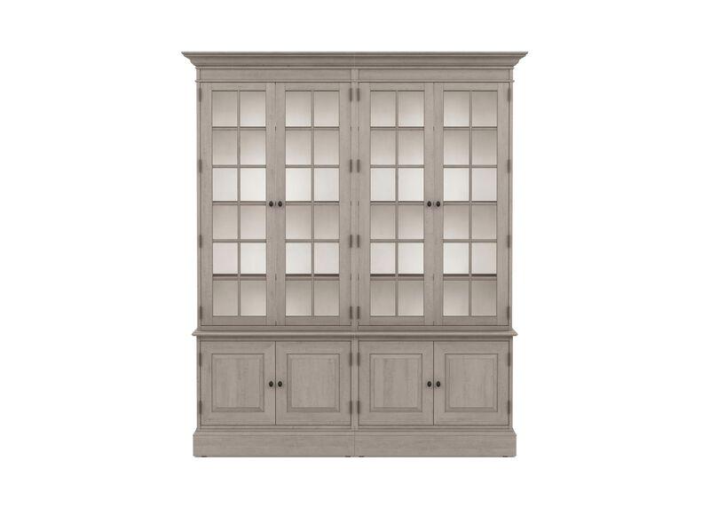 Villa Double Library Bookcase