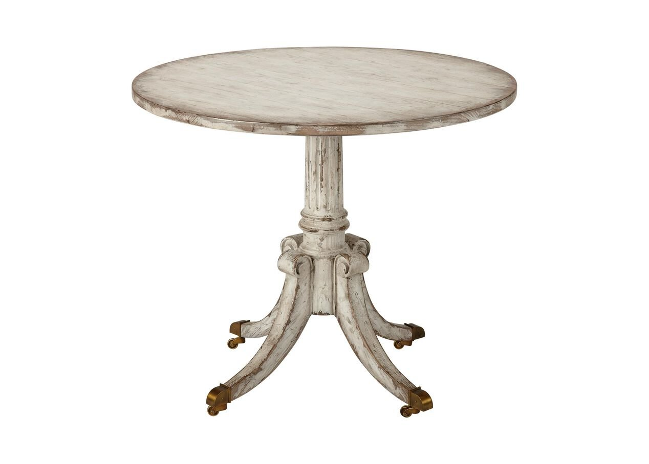 Vienna round pedestal table side tables for Round side tables for living room