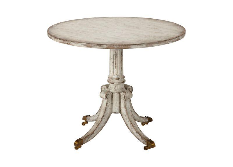 Vienna Round Pedestal Table, Brie ,  , large_gray