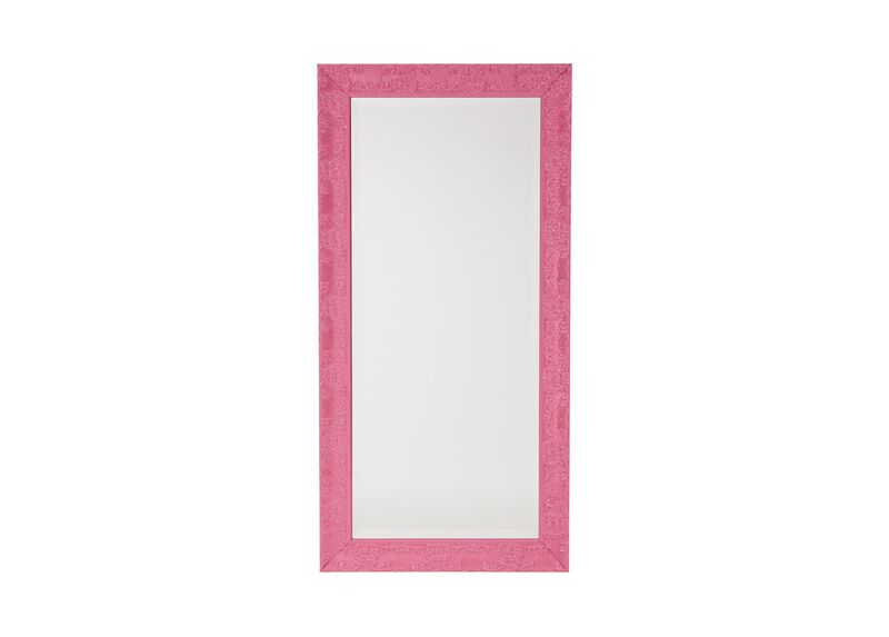 Not Your Traditional Floor Mirror, Pink