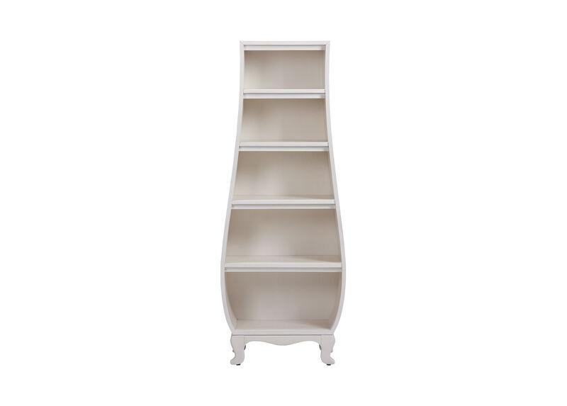 Neverland Bombé Bookcase