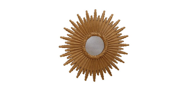"""24"""" Gold Starburst Mirror"""