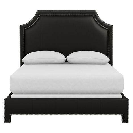 Alison Leather Bed ,  , large
