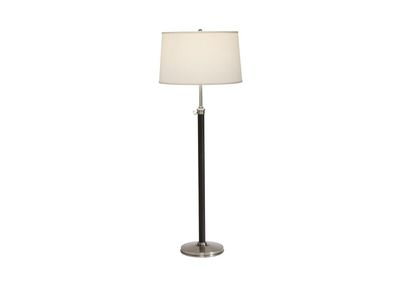 Ridgefield Nickel Floor Lamp