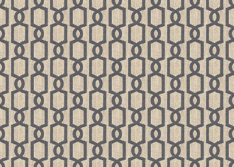 Mod Charcoal Fabric by the Yard