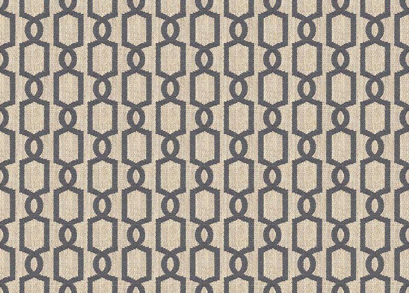 Mod Charcoal Fabric