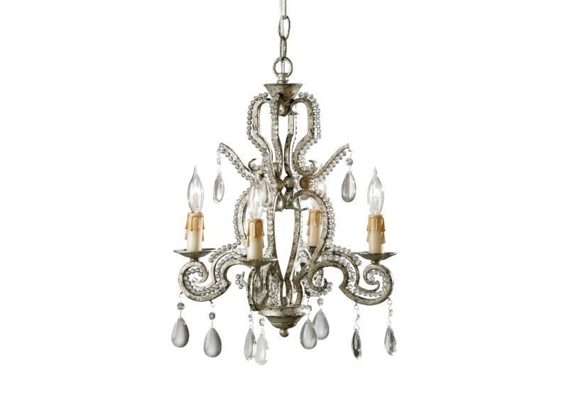 Four Light Kendall Mini Chandelier