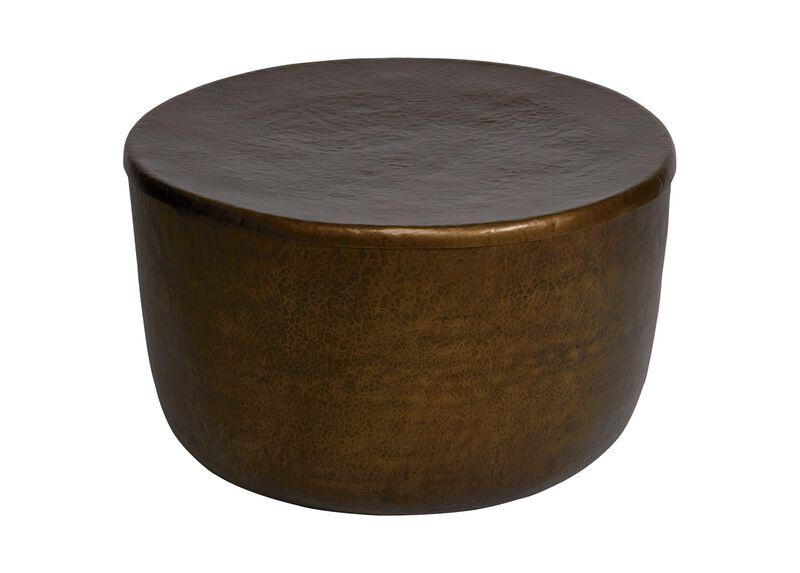 Barnett Storage Drum Table
