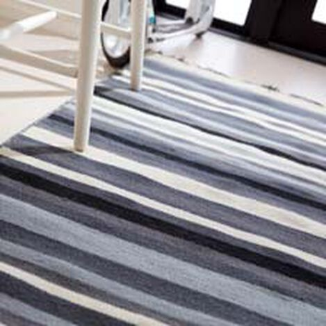 Tricolor Striped Rug ,  , hover_image