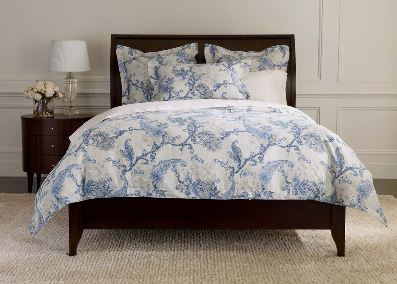 Delmore Paisley Duvet Cover and Shams ,  , large_gray