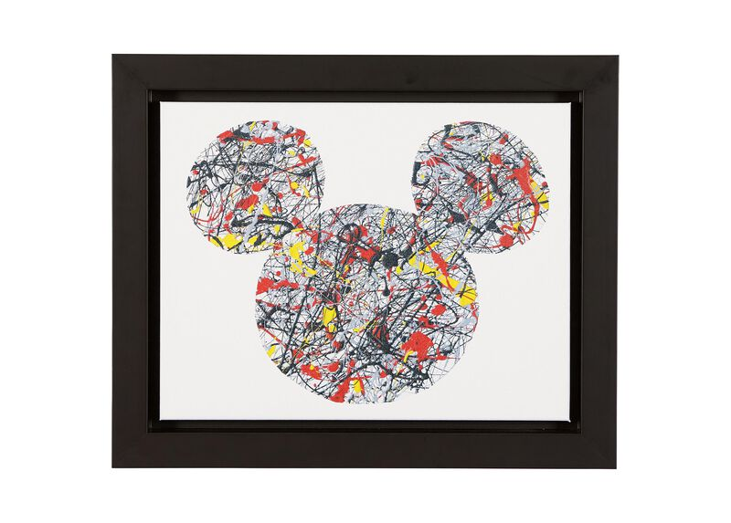Drip Paint Mickey ,  , large_gray