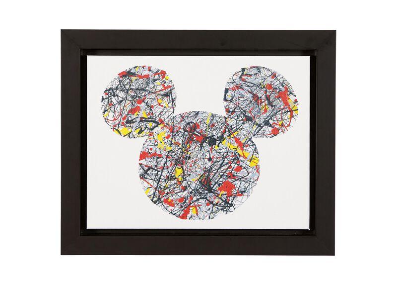 Drip Paint Mickey
