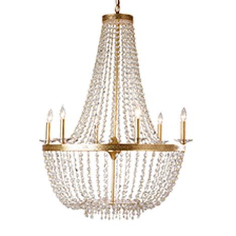 New Regent Gold Chandelier Product Tile Image 093648