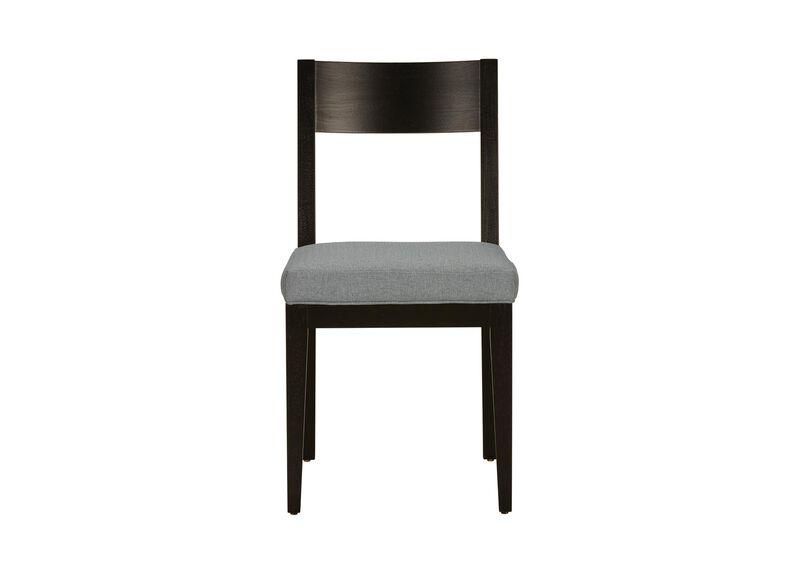 Krain Curved Back Upholstered Dining Side Chair Ethan Allen - Curved-upholstered-dining-chair