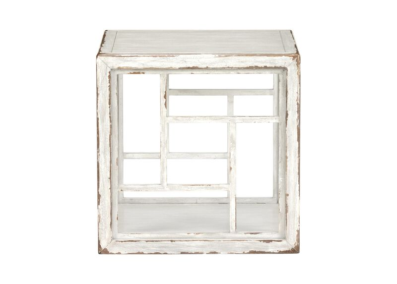 Dynasty Fretwork Side Table ,  , large_gray
