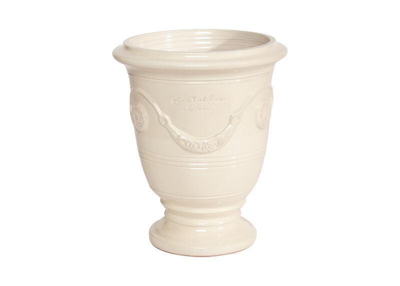 Anduze No.3 Ivory Planter ,  , large_gray