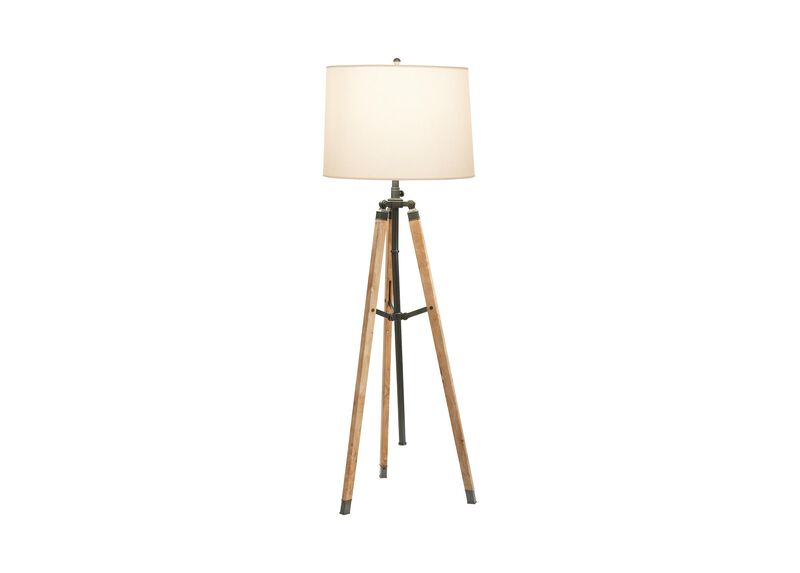 Surveyor's Bronze Floor Lamp