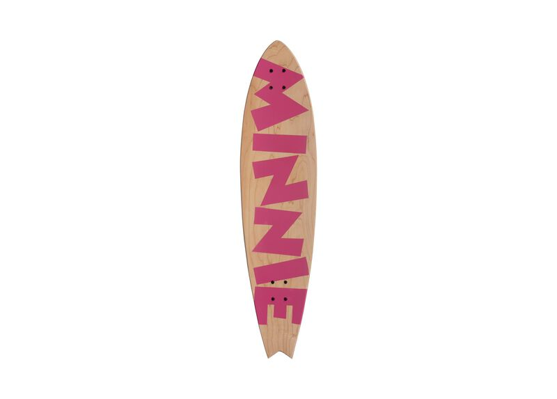 Minnie Mouse Longboard Wall Art II