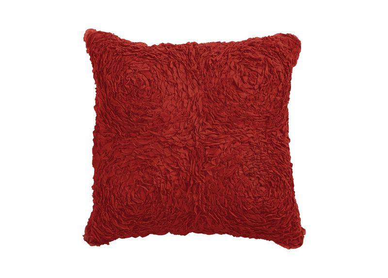 Really Ruffle Pillow, Mickey's Shorts Red