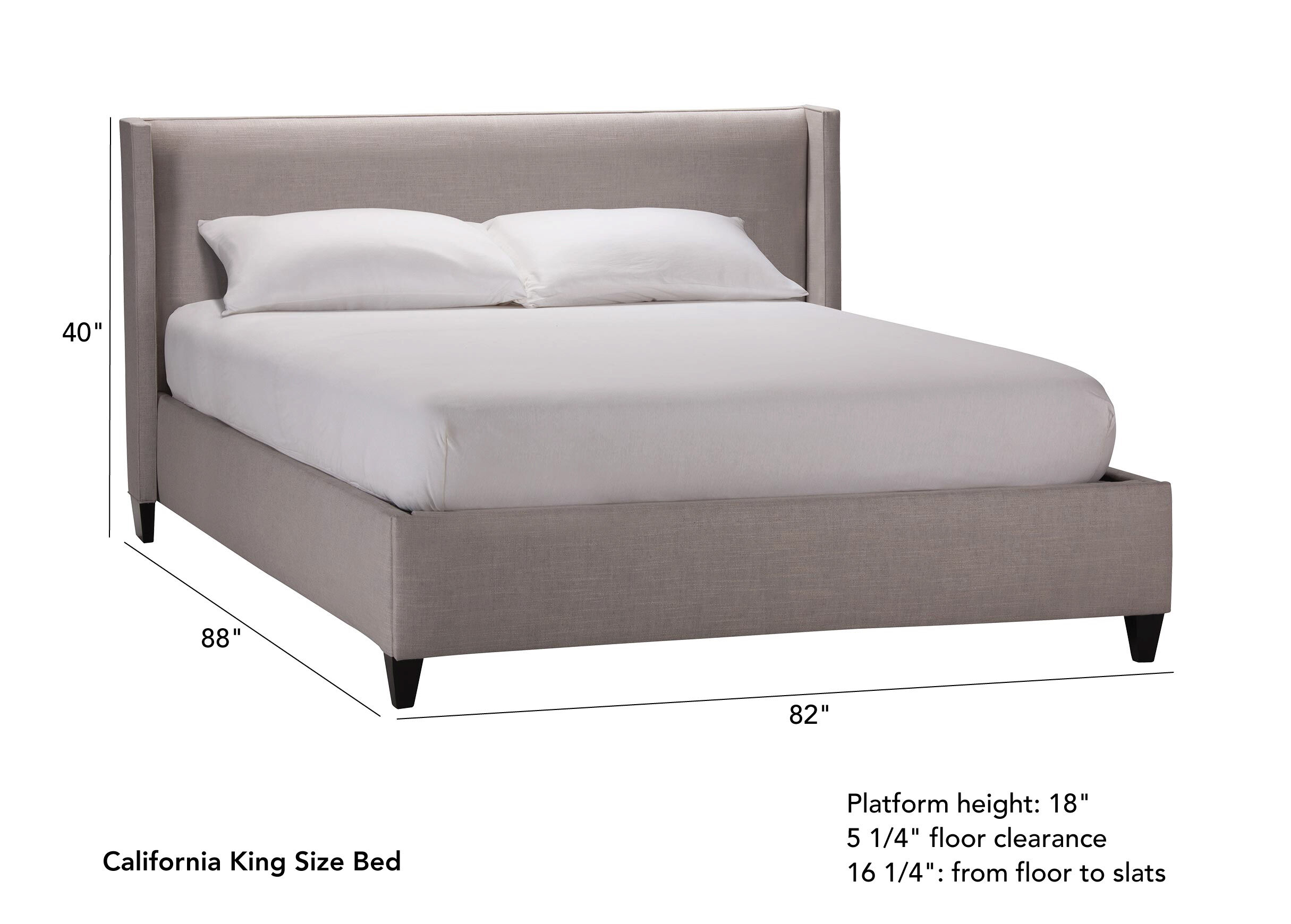 Colton Platform Bed With Low Headboard_3