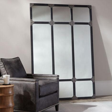 Brayden Iron Floor Mirror Product Tile Hover Image 074505