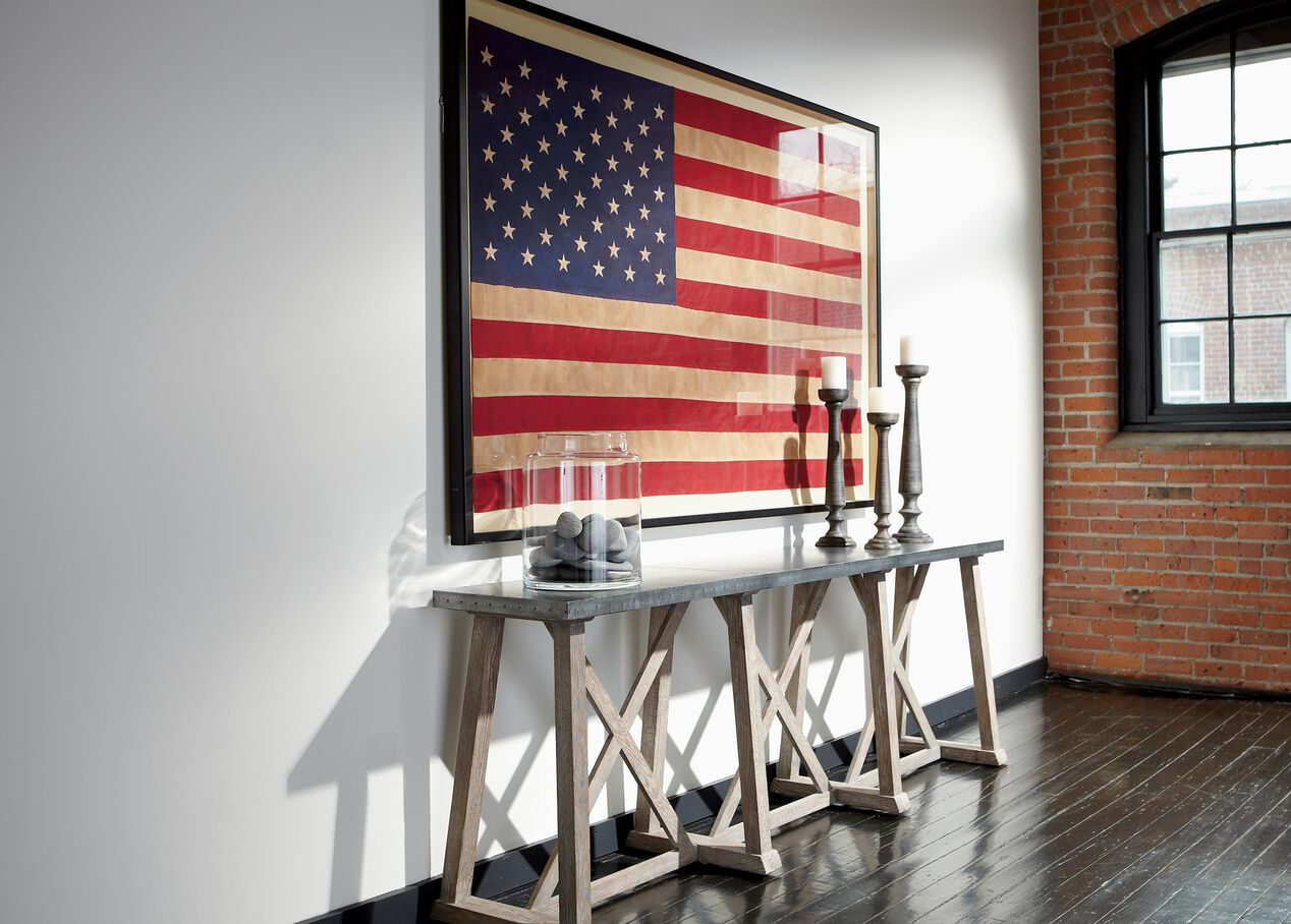 Vintage Us Flag Flags Ethan Allen