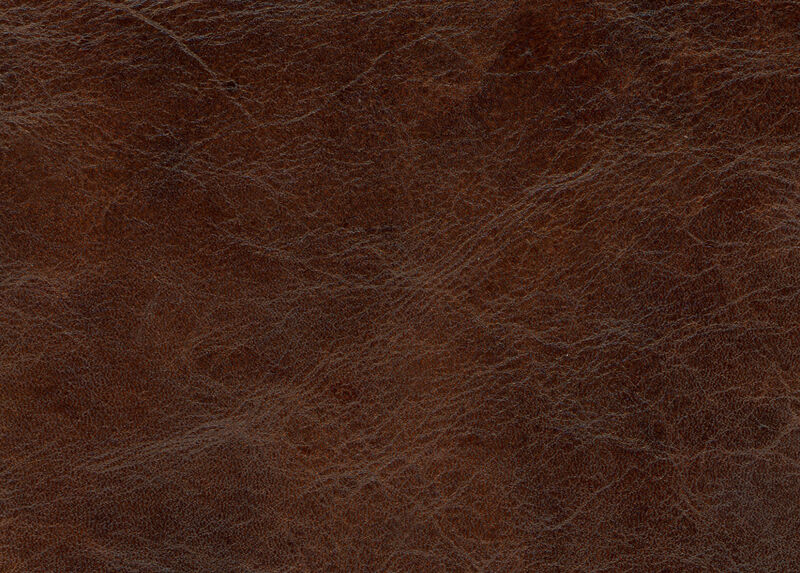 Old-English Chocolate Leather Swatch