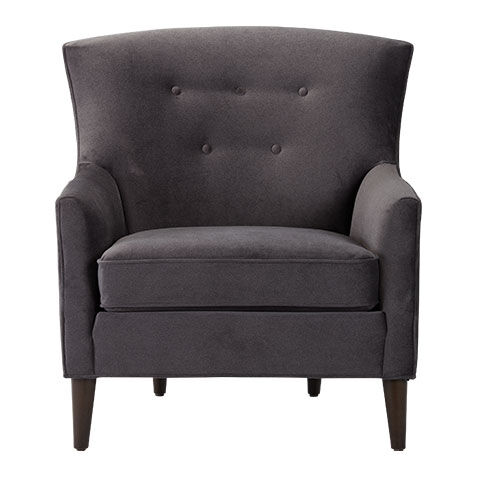Juilliard Barrel Back Wing Chair, Quick Ship