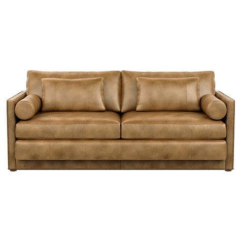Null Null. SAVE 20%. Abington Leather Sofa