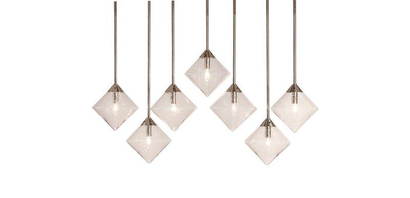 Tallie Glass Bulb Chandelier