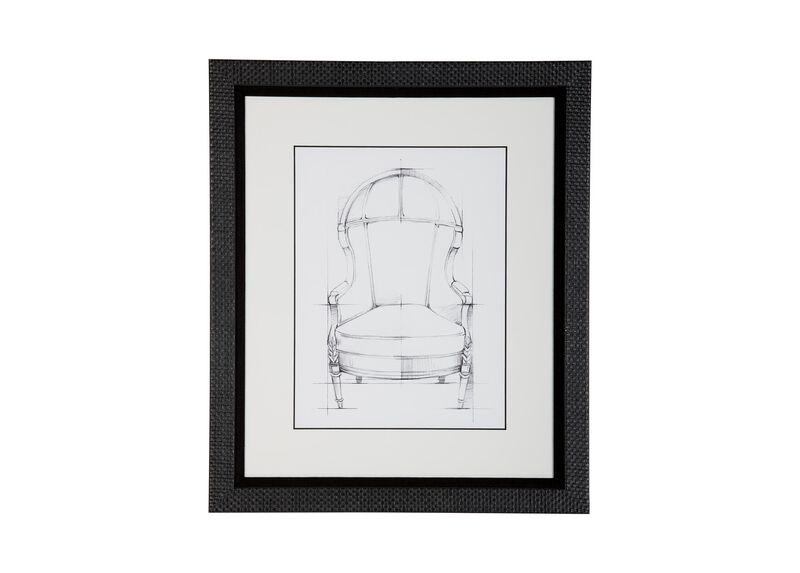 Historic Chair Sketch VII